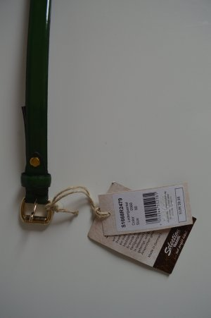 Vanzetti Leather Belt forest green leather