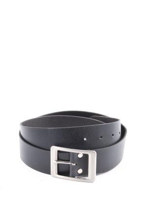 Vanzetti Leather Belt black casual look