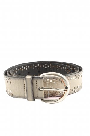 Vanzetti Studded Belt natural white casual look