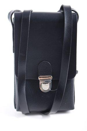 Vanzetti Gekruiste tas zwart-zilver casual uitstraling