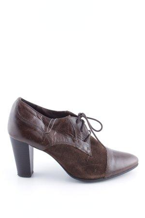 Varese Absatz Stiefel braun Business-Look