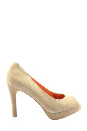 Varese High Heels creme Business-Look