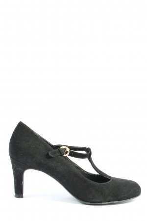 Varese T-Steg-Pumps schwarz Business-Look
