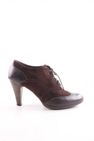Varese Hochfront-Pumps braun Business-Look
