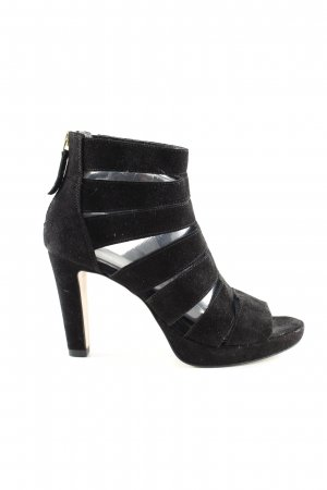 Varese Riemchen-Sandaletten schwarz Business-Look