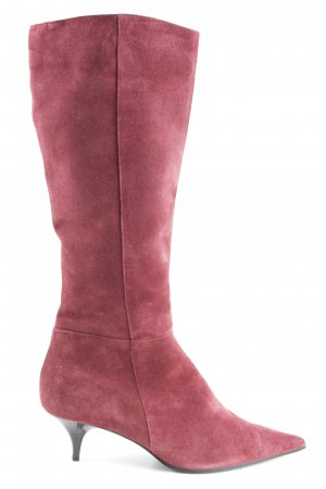 Varese Schaftstiefel rot Business-Look