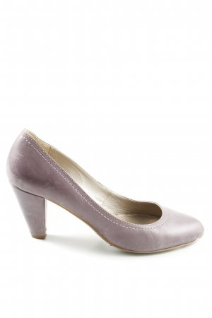 Varese Spitz-Pumps lila Business-Look