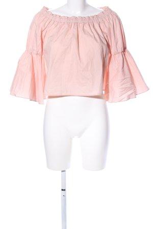 Carmen blouse roze casual uitstraling