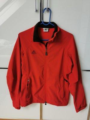 Vaude Softshell Jacket red