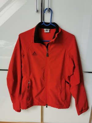 Vaude Softshell Jacket red