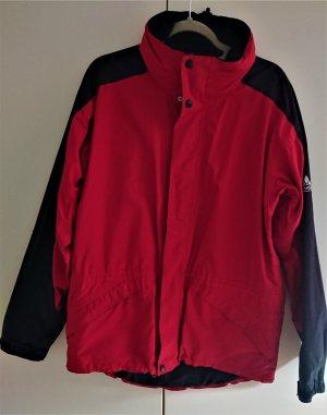 Vaude Veste d'extérieur rouge brique-noir polyester