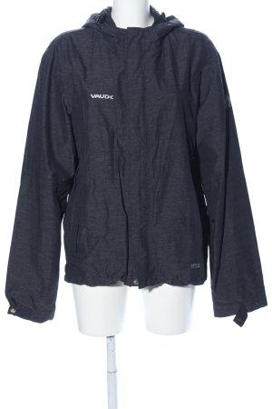 Vaude Outdoor Jacket light grey flecked casual look