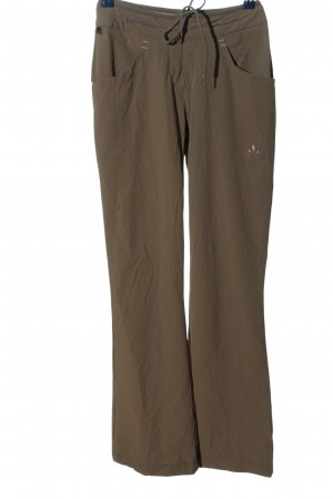 Vaude Snow Pants brown-natural white casual look