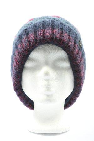 Vaude Wełniana czapka niebieski-różowy W stylu casual