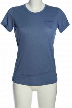 Vaude T-Shirt blau Casual-Look