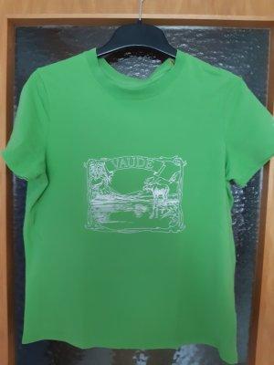 vaude t-shirt grün Größe 44