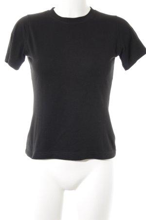 Vaude T-Shirt schwarz Casual-Look