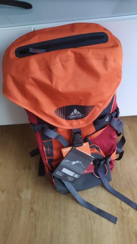 Vaude TEC Rock 32 orange rot grau neu