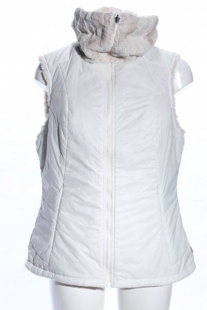Vaude Reversible Vest white printed lettering casual look