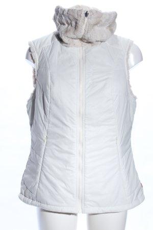 Vaude Dwustronna kamizelka biały Wydrukowane logo W stylu casual