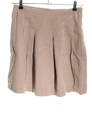 vayana Plaid Skirt nude casual look