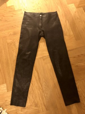 Vegan Suede Pants - Hose im  Look