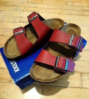 Birkenstock Comfort Sandals dark red