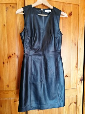 Warehouse Leather Dress black