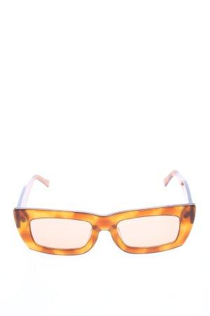 Vehla eckige Sonnenbrille hellorange Farbverlauf Casual-Look