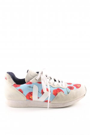 Veja Zapatilla brogue estampado floral look casual
