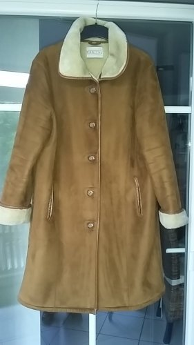 Barisal Winter Coat cognac-coloured