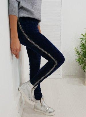 Leggings blu scuro