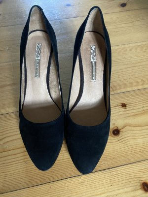 Velourleder Pumps von Buffalo Gr. 39