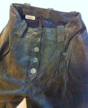 C&A Traditionele leren broek khaki Suede