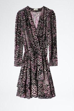 Zadig & Voltaire Mini Dress black-violet