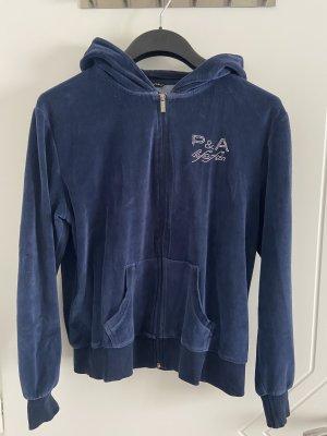 Hooded Vest blue