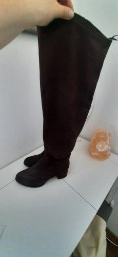 Velours Stiefel