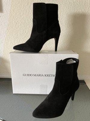 Guido Maria Kretschmer Wciągane buty za kostkę czarny