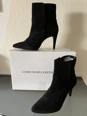Guido Maria Kretschmer Slip-on Booties black