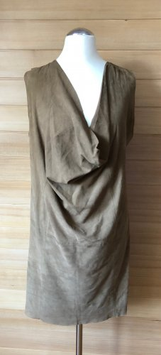 Kookai Leather Dress light brown leather
