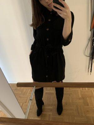 Zign Overknees black leather