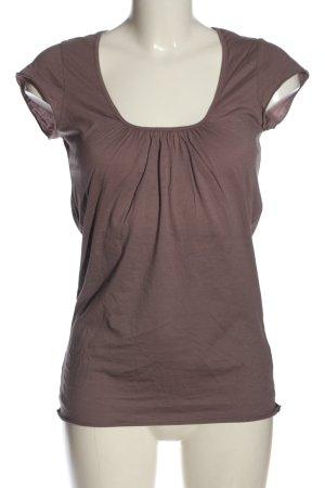 Velvet Camiseta Básico marrón look casual