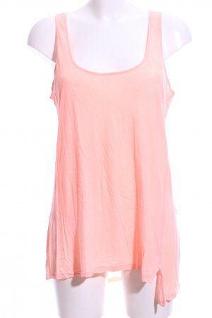 Velvet Basic Top pink Casual-Look