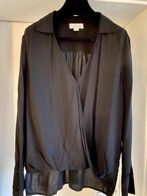 Velvet Bluse, schwarz M