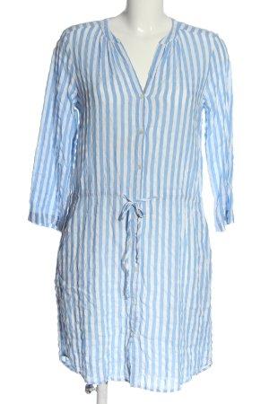 Velvet by Graham & Spencer Blusenkleid blau-weiß Streifenmuster Casual-Look