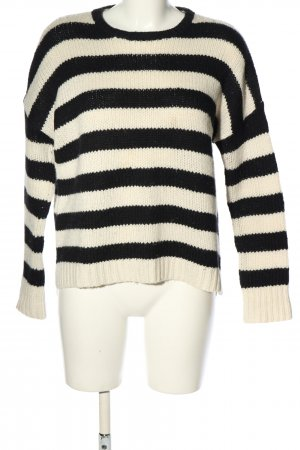 Velvet by Graham & Spencer Jersey de punto grueso blanco-negro look casual