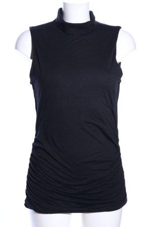 Velvet by Graham & Spencer Top met rolkraag zwart casual uitstraling