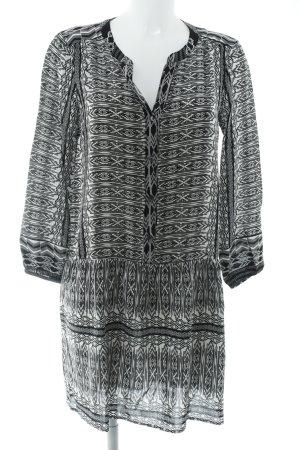 Velvet by Graham & Spencer Tunikakleid schwarz-weiß abstraktes Muster