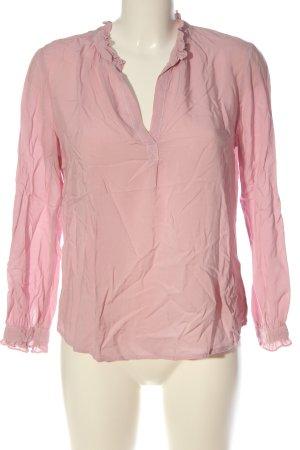 Velvet Camicia blusa rosa stile casual