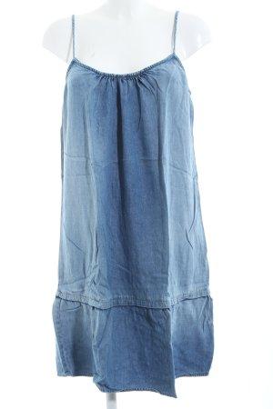 Velvet Jeanskleid blau Casual-Look